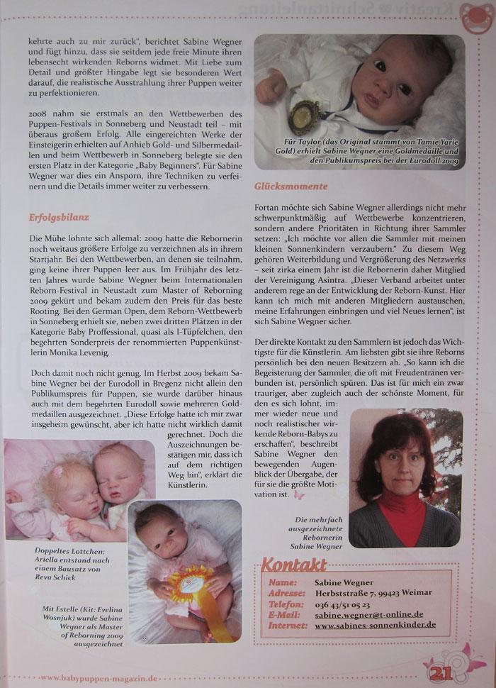 Babypuppen 2009